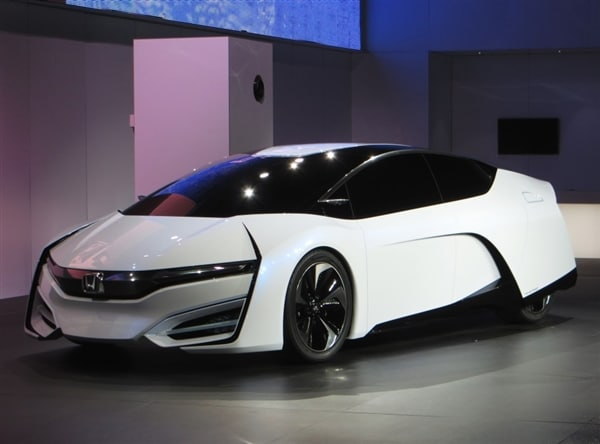 Honda Fcev Concept Offers A Preview Of Tomorrow Kelley