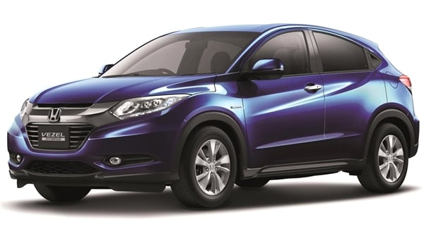 Honda Vezel Previews A New Compact Crossover For The US