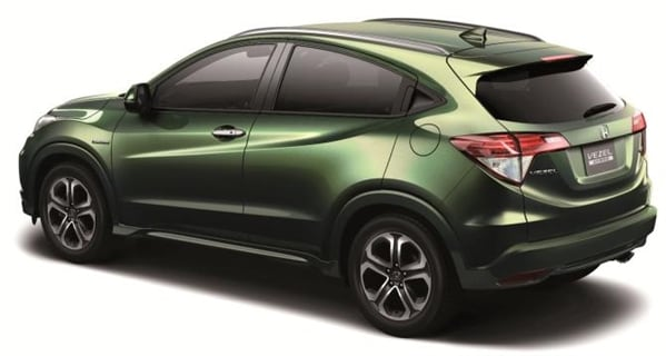 honda vezel previews a new compact crossover for the u s kelley blue book. Black Bedroom Furniture Sets. Home Design Ideas