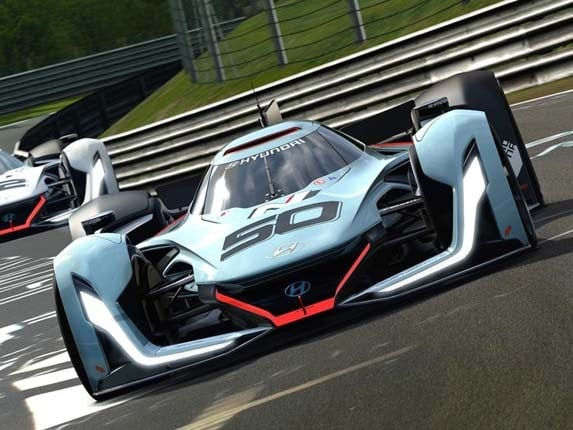 hyundai   vision gran turismo forecasts  faster future kelley blue book