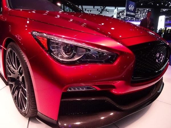 Infiniti Q50 Eau Rouge Concept debuts in Detroit 3