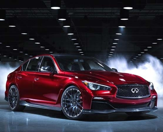 infiniti q50 eau rouge concept showcases 560 hp twin turbo