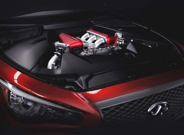 Luxury Vehicle: Infiniti Q50 Eau Rouge Concept Showcases 560-hp Twin-turbo
