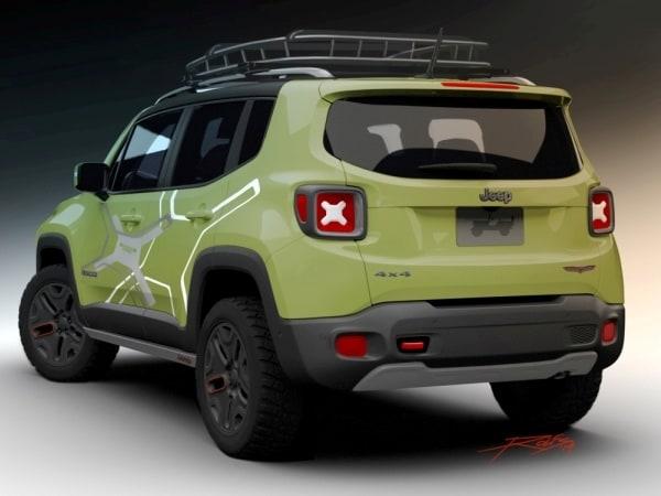 jeep renegade mopar off road concept revealed   kelley blue book