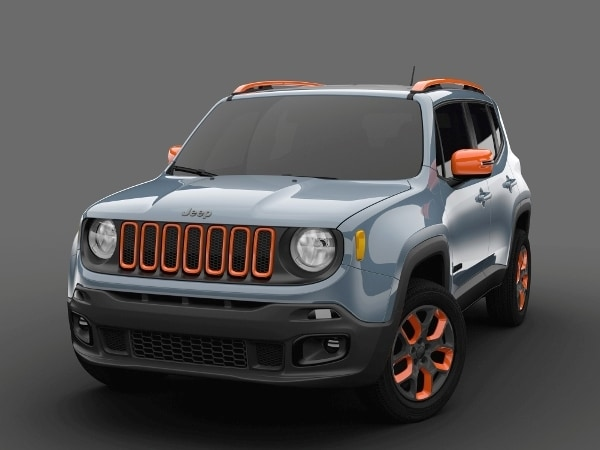 Making Its Debut In Detroit The Jeep Renegade Mopar Urban Concept Presents A Youthful Take On Street Smart Version Of Division S Newest Compact Suv
