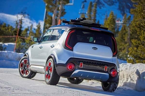 Kia Trail Ster Concept Soul Awd Hybrid Ready To Roll