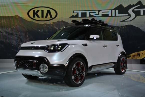 Kia Trail Ster Concept Soul Awd Hybrid Ready To Roll