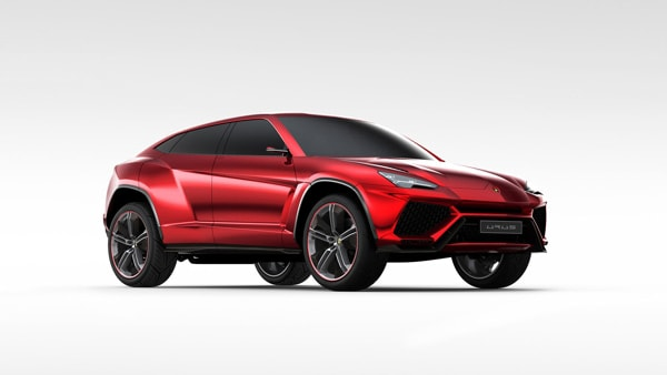 lamborghini confirms suv for 2018 - Lamborghini Urus Blue