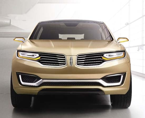 lincoln mkx concept previews new mid size suv kelley blue book. Black Bedroom Furniture Sets. Home Design Ideas