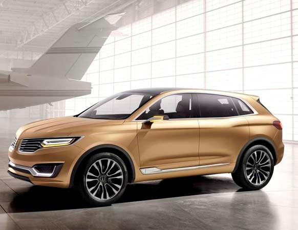 Auto Loans Calculator >> Lincoln MKX Concept previews new mid-size SUV - Kelley ...