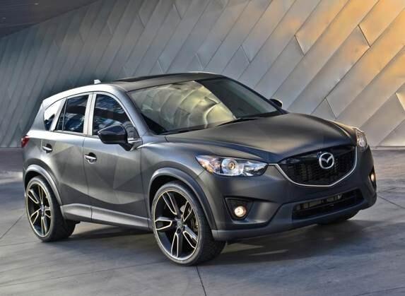Mazda Cx 5 And Mx 5 Concepts Make A Sema Splash Kelley