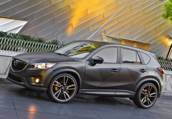 Mazda Cx 5 And Mx 5 Concepts Make A Sema Splash Kelley Blue Book