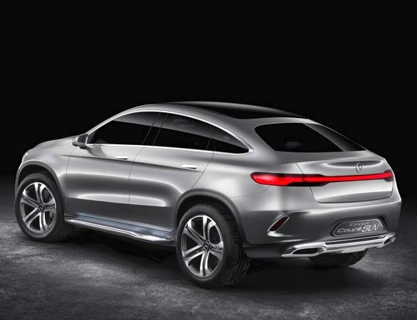 Mercedes benz concept coupe suv hints at new model for Upcoming mercedes benz models