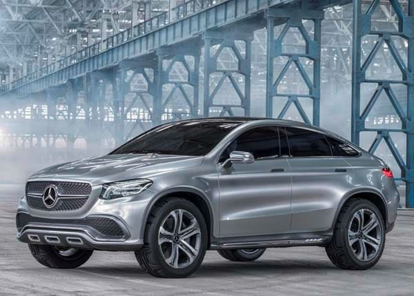 Mercedes benz concept coupe suv hints at new model for Mercedes benz suv models