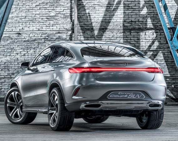 Mercedes-Benz Concept Coupe SUV hints at new model ...