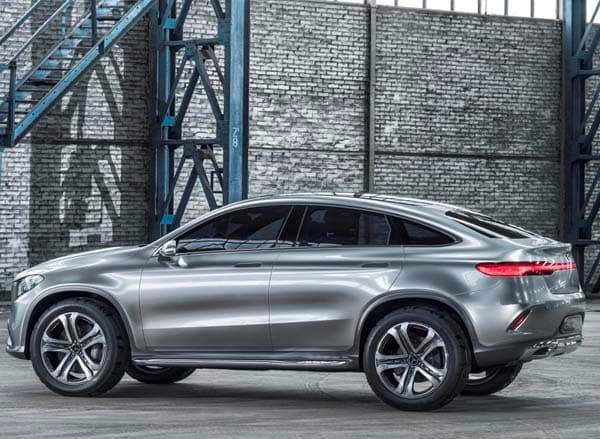 Mercedes benz concept coupe suv hints at new model for The latest mercedes benz