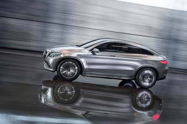 Mercedes Benz Concept Coupe Suv Points To A Larger