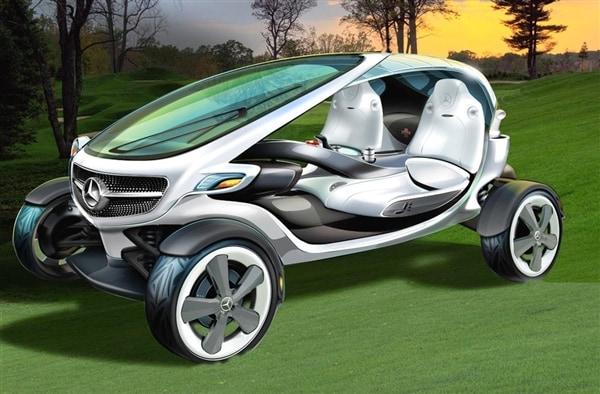 Mercedes Benz Vision Golf Cart Concept Revealed