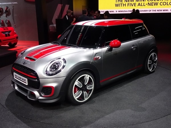 Mini John Cooper Works Concept Revealed Kelley Blue Book