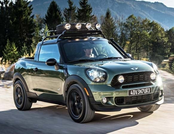 Mini Paceman Adventure Concept Shows Pickup Potential