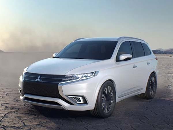 Mitsubishi Outlander Phev Concept S Previews New Look