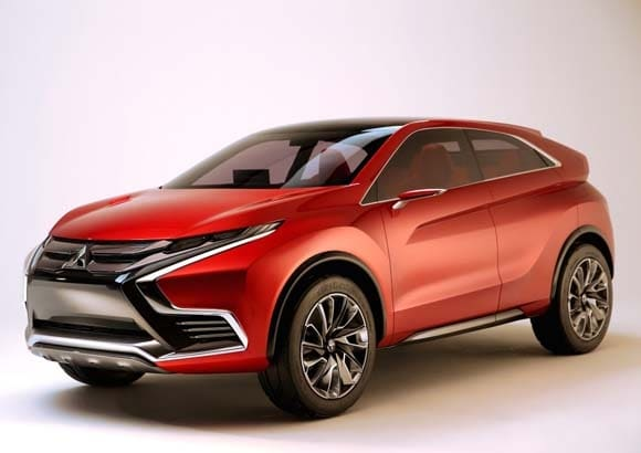 Mitsubishi XR-PHEV II Concept previews a new model ...