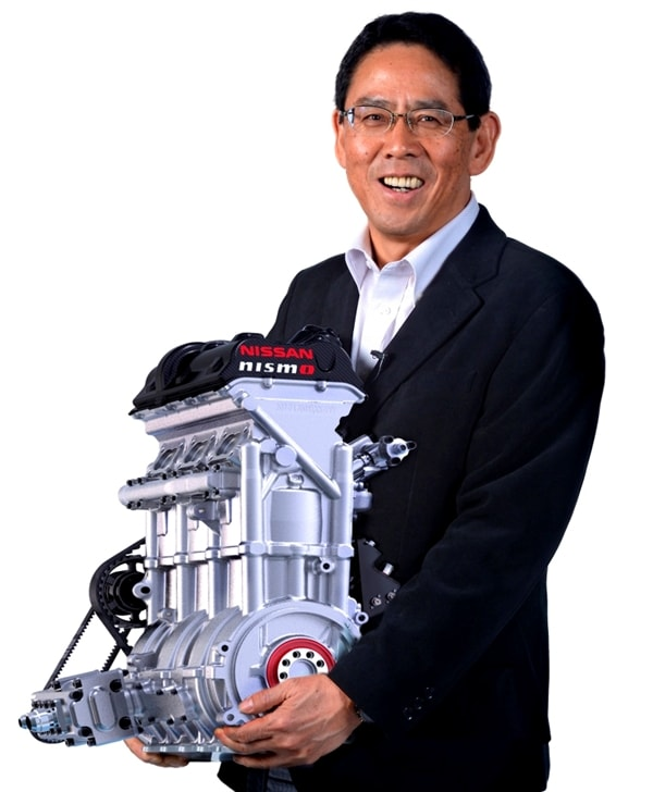 Nissan's New 400-hp/3-cylinder Race Engine Could See