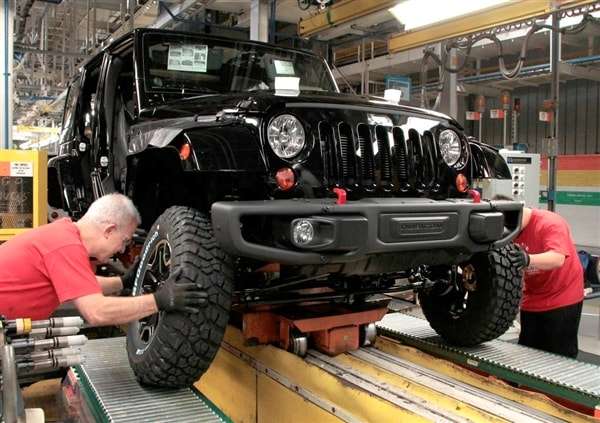 Jeep Wrangler JK production officially tops 1 million