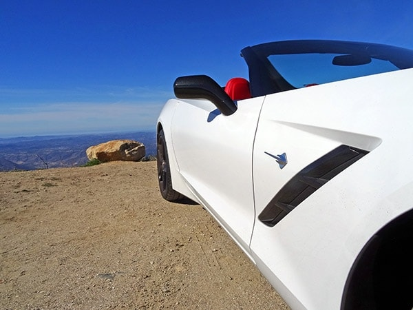 Pie in the sky: Playing hooky with a 2014 Chevrolet Corvette Stingray Convertible 3