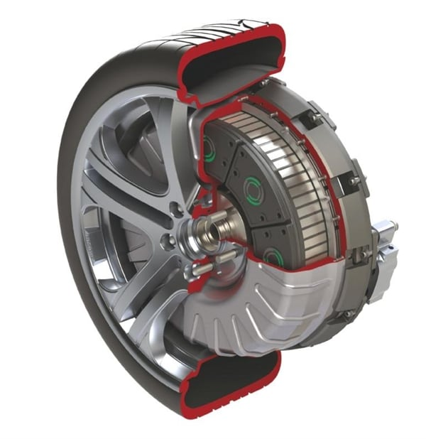 Protean Electric Shows Production Ready In Wheel Electric