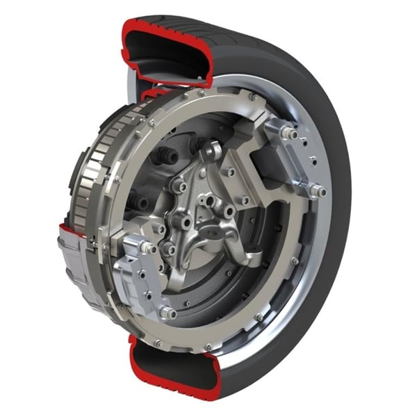 Protean Electric Shows Production Ready In Wheel Motor