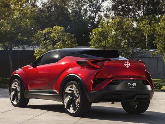 2017 Scion C-HR Concept bows - Kelley Blue Book