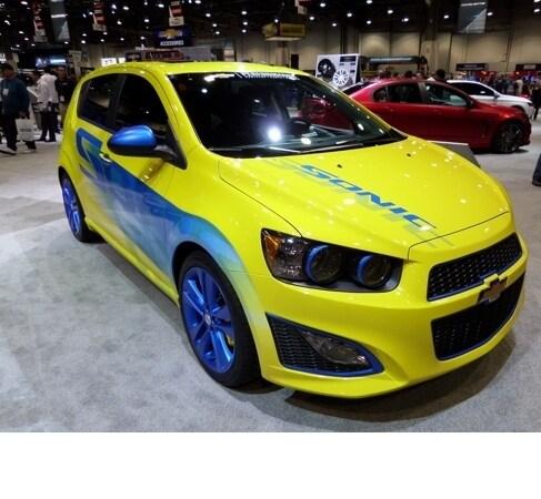 Chevy Performance Sonic 5-door Concept
