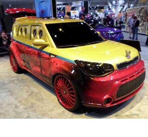 Vans Warped Tour Kia Soul