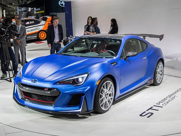 Brz Sti Specs >> Subaru Brz Sti Performance Concept Ushers Sti Into The Usa