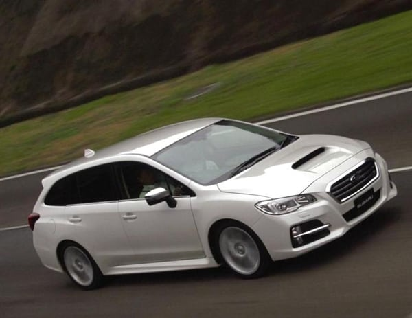 No Credit Car Loans >> Subaru Levorg Concept will spawn a production wagon - and ...