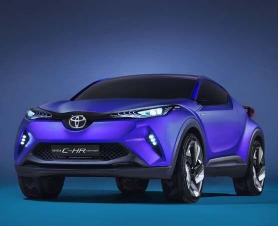 Toyota C-HR Concept unveiled - Kelley Blue Book