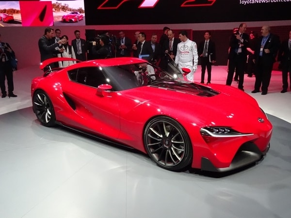 Toyota Ft 1 >> Toyota Unveils Hot Ft 1 Concept At The 2014 Detroit Auto