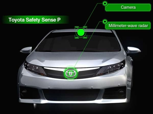 toyota launches new safety sense systems adds driver