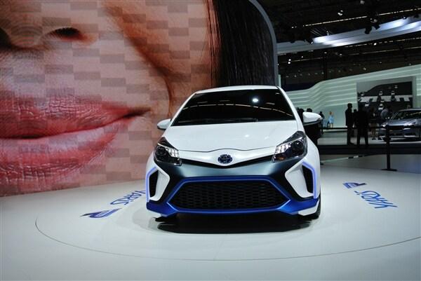 Toyota Yaris Hybrid-R Concept revealed 2