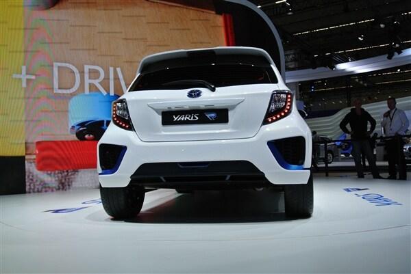 Toyota Yaris Hybrid-R Concept revealed 6