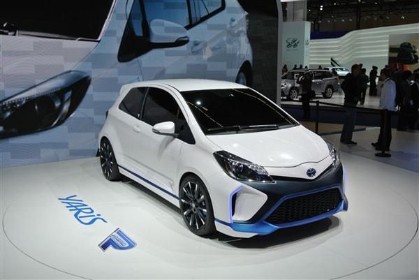 Toyota Yaris Hybrid-R Concept revealed 10