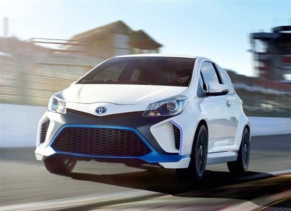 Toyota Yaris Hybrid-R Concept revealed 18