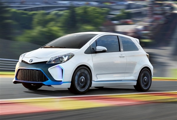 Toyota Yaris Hybrid-R Concept revealed 19