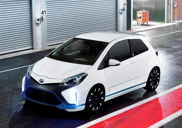 Toyota Yaris Hybrid-R Concept revealed 21