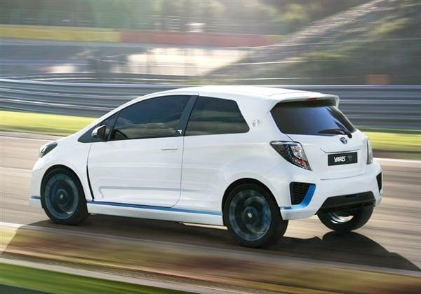 Toyota Yaris Hybrid-R Concept revealed 22