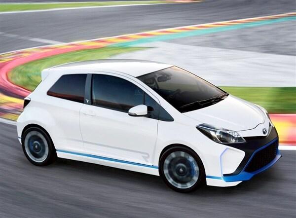 Toyota Yaris Hybrid-R Concept revealed 23