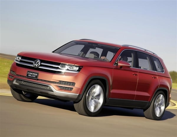 volkswagen confirms  mid size suv     kelley blue book
