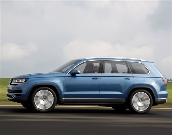No Credit Check Car Dealers >> Volkswagen confirms new mid-size SUV will come to U.S ...