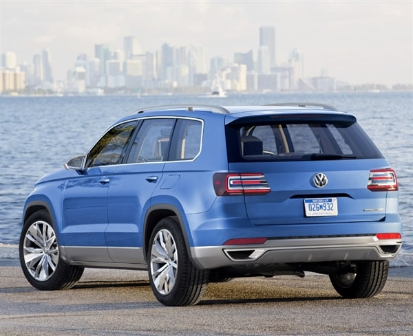 Volkswagen Confirms New Mid Size Suv Will Come To U S Kelley Blue Book